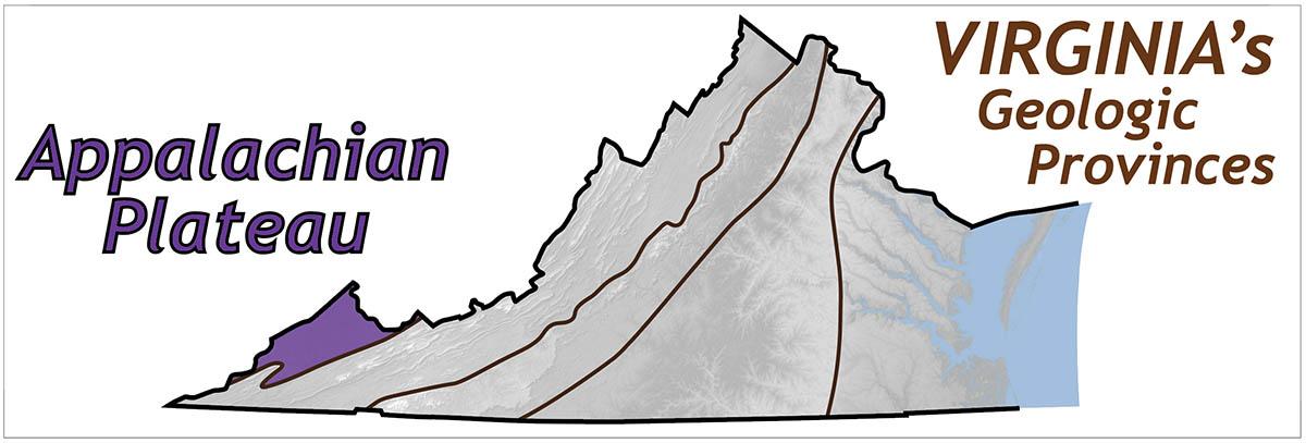 Appalachian Plateau The Geology Of Virginia