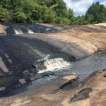 Nottoway Falls in the Piedmont of south-central Virginia