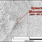 Spears Mountain, a monadnock in the central Piedmont of Virginia.
